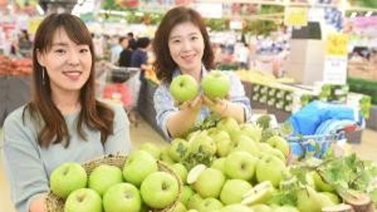 농협유통 '초록 여름사과' 아오리 첫 출하 - 서울파이낸스