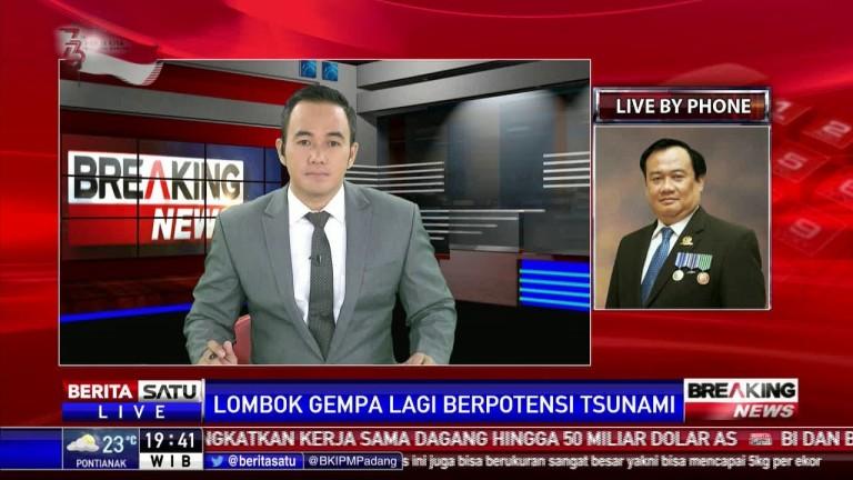 Kembali Diguncang Gempa 7 SR, Warga Lombok Panik