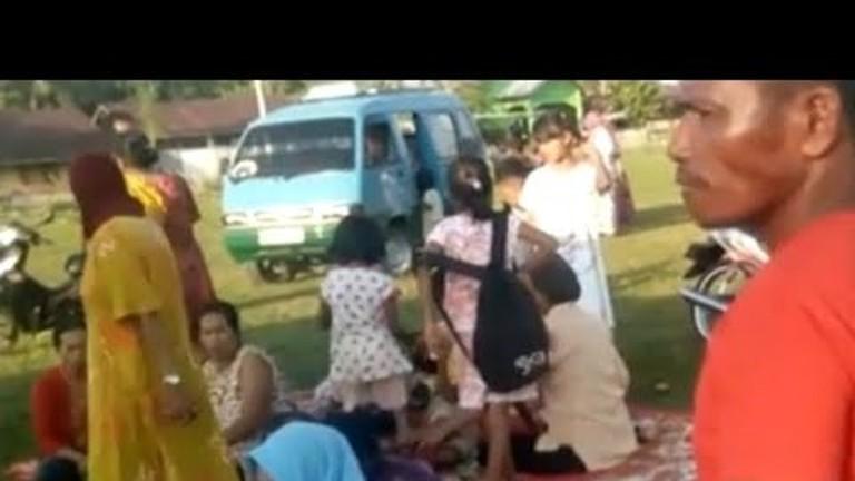 Gempa Bermagnitudo 7,7 Terjadi di Donggala, Sulteng