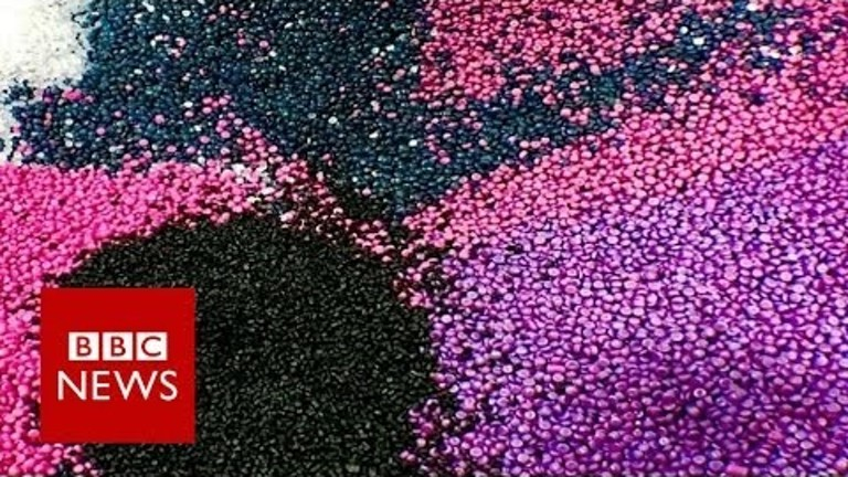 Can plastic roads help save the planet? BBC News