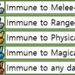 """[System] What is """"Immune!""""? Can't pass the stages!"""