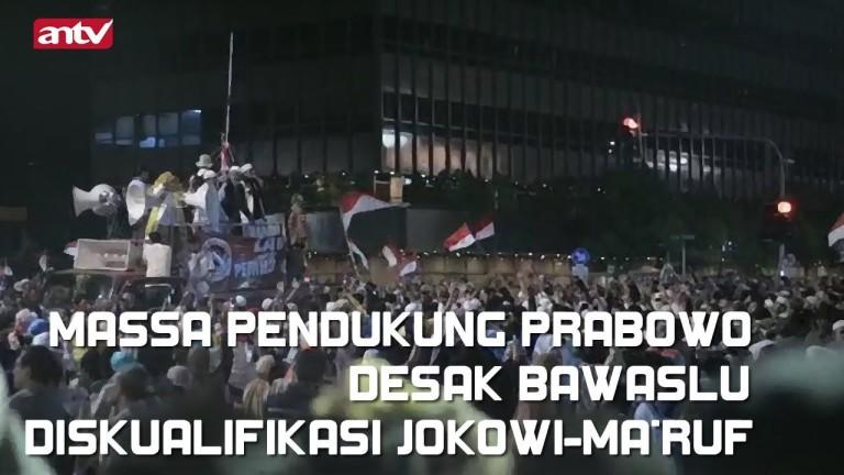 Pendukung Prabowo Demo Desak Bawaslu Diskualifikasi Jokowi