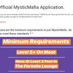 Official MysticMafia Application.