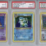 Lot Detail - 1999 Pokemon 1st Edition PSA GEM MT 10 Complete Set (103) Featuring #4 Charizard Example!