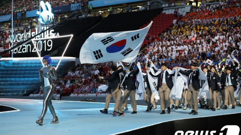 제45회 국제기능올림픽 막 내려…한국 종합 3위
