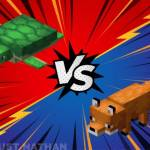 Turtles vs Foxes who's the best animal? Minecraft Edition