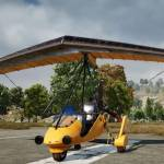 Test PUBG's first flying vehicle this weekend