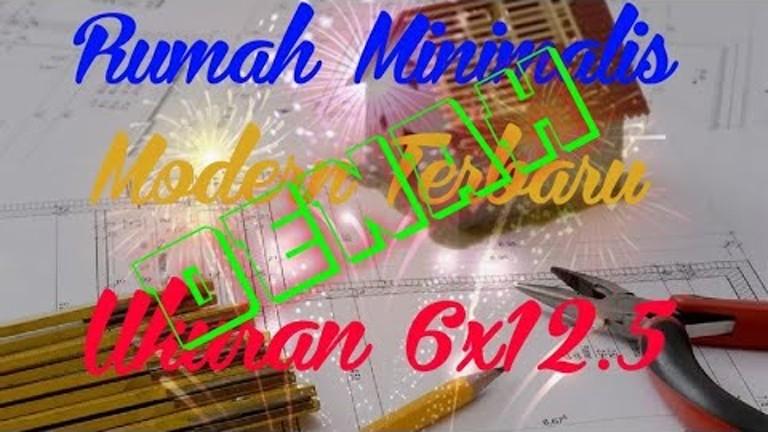 Denah Rumah Minimalis 3 Kamar Ukuran 6x12  youtube band