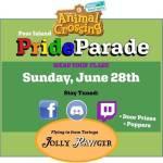 Pear Island's Pride Parade (AC:NH)